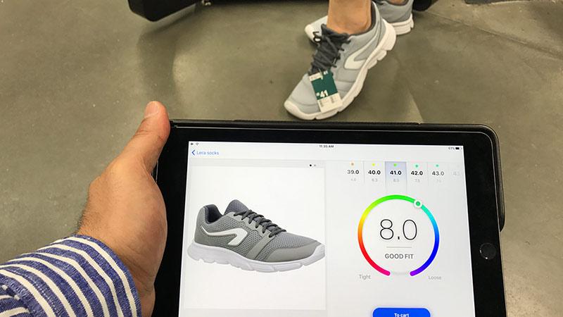 Сканирование ноги